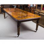 Marquetry Dining Table