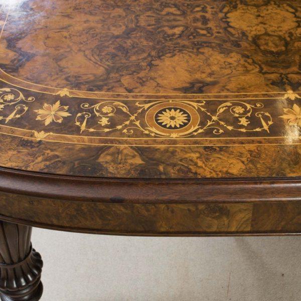 06494-Huge-Bespoke-Handmade-17ft-Marquetry-Burr-Walnut-Dining-Table-15