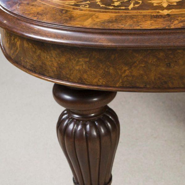 06494-Huge-Bespoke-Handmade-17ft-Marquetry-Burr-Walnut-Dining-Table-18
