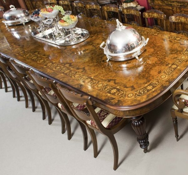 06494a-Huge-Bespoke-Handmade-Marquetry-Walnut-Extending-Dining-Table-18-Chairs-4