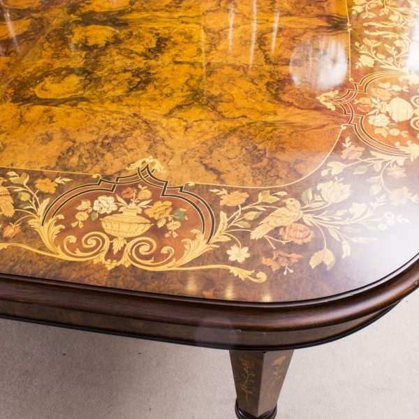 08208a-Huge-Bespoke-Handmade-Marquetry-Burr-Walnut-Extending-Dining-Table-18-Chairs-17