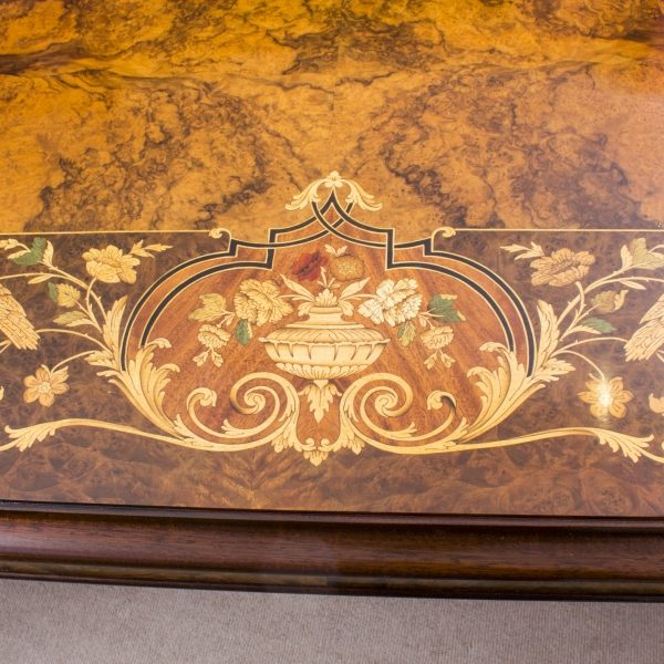 08208a-Huge-Bespoke-Handmade-Marquetry-Burr-Walnut-Extending-Dining-Table-18-Chairs-19