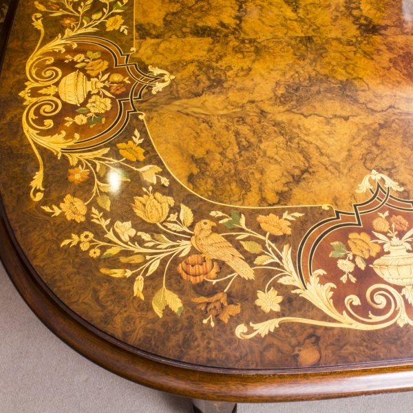 08208a-Huge-Bespoke-Handmade-Marquetry-Burr-Walnut-Extending-Dining-Table-18-Chairs-24