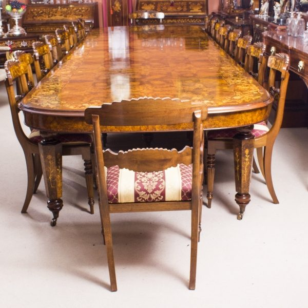 08208a-Huge-Bespoke-Handmade-Marquetry-Burr-Walnut-Extending-Dining-Table-18-Chairs-3