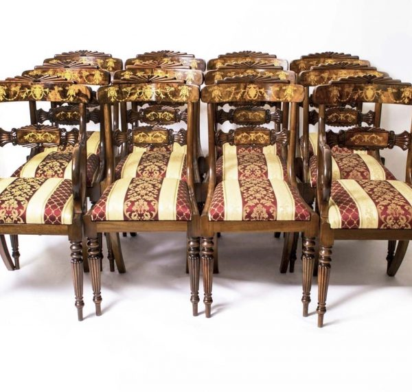 08208a-Huge-Bespoke-Handmade-Marquetry-Burr-Walnut-Extending-Dining-Table-18-Chairs-31