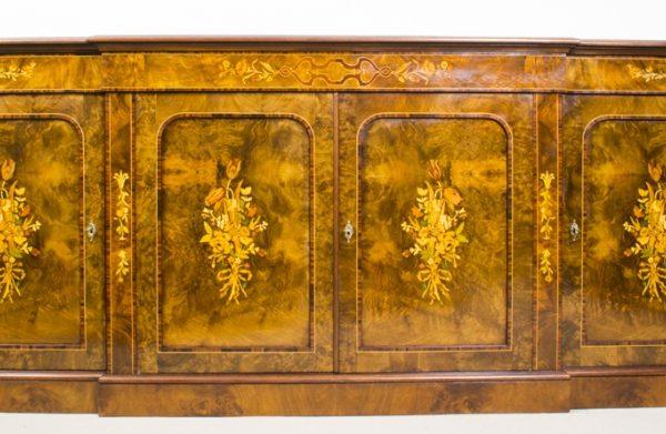 02299-Enormous-Bespoke-Handmade-Burr-Walnut-Marquetry-4-Door-Sideboard-1