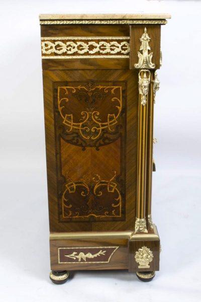 02939-Stunning-Bespoke-Handmade-Victorian-Walnut-&-Mahogany-Marquetry-Cabinet-3