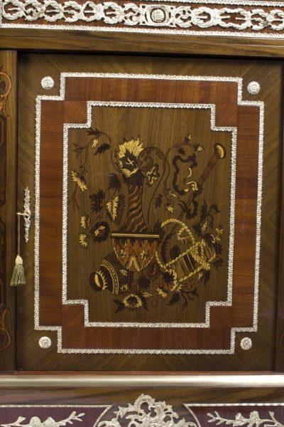 02939-Stunning-Bespoke-Handmade-Victorian-Walnut-&-Mahogany-Marquetry-Cabinet-8