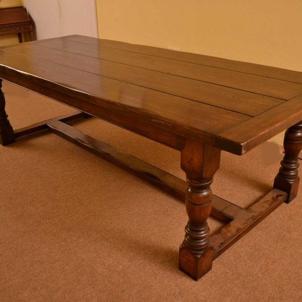 03869a-Bespoke-Solid-Oak-Refectory-Dining-Table-&-10-Chairs-13
